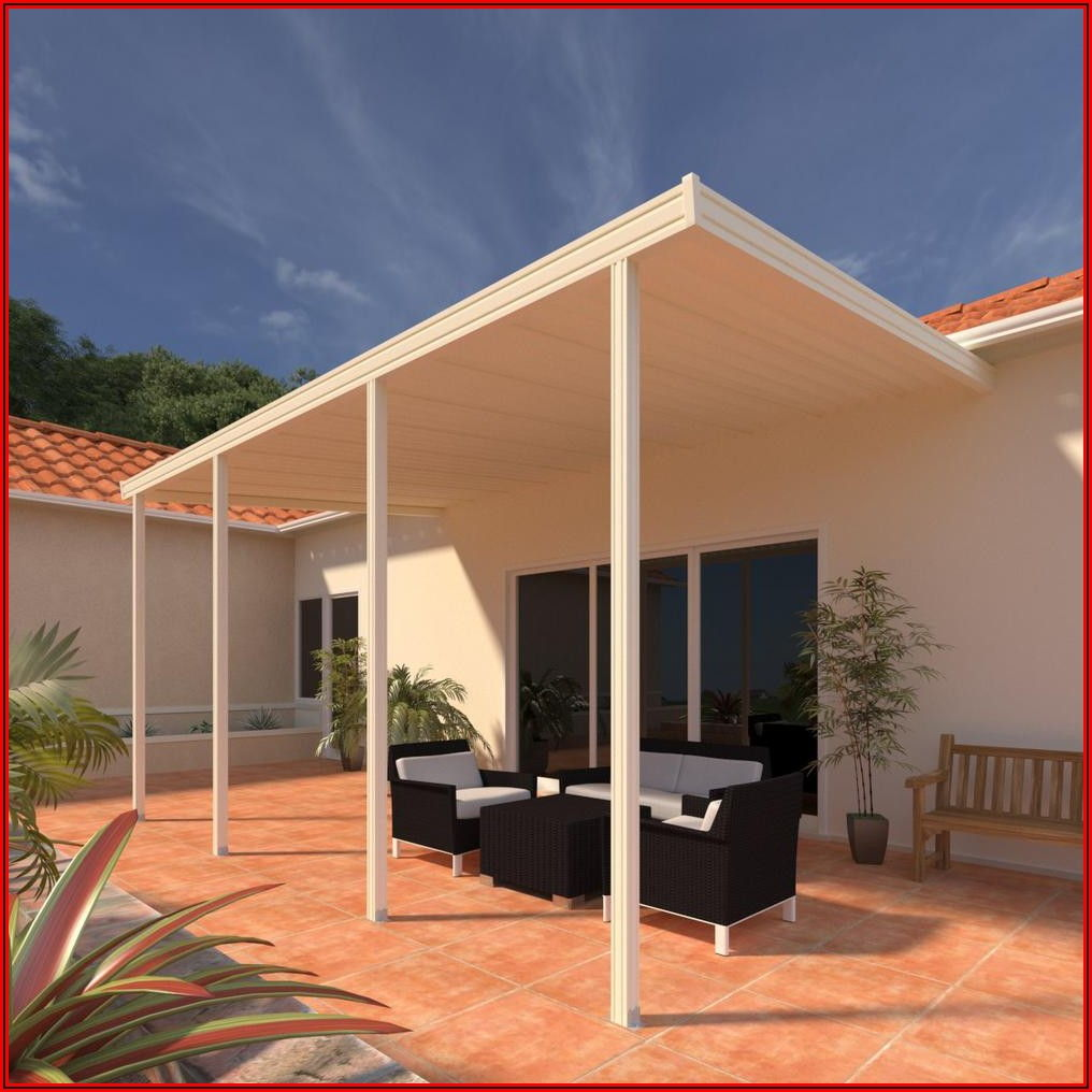 Attached Patio Cover Kit