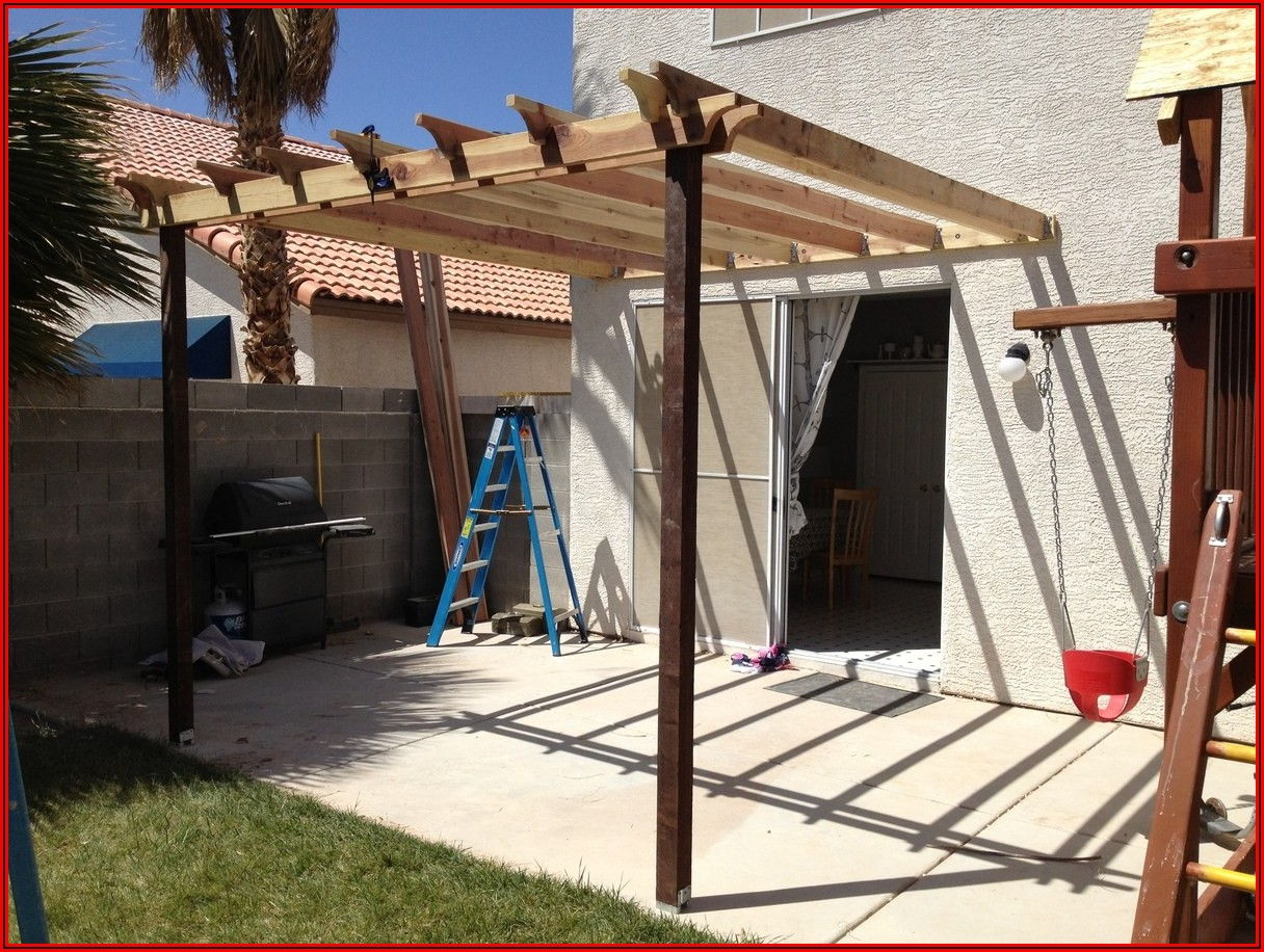 Attached Patio Cover Plans Pdf