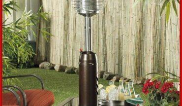 Az Patio Heaters Outdoor Patio Heater In Hammered Bronze