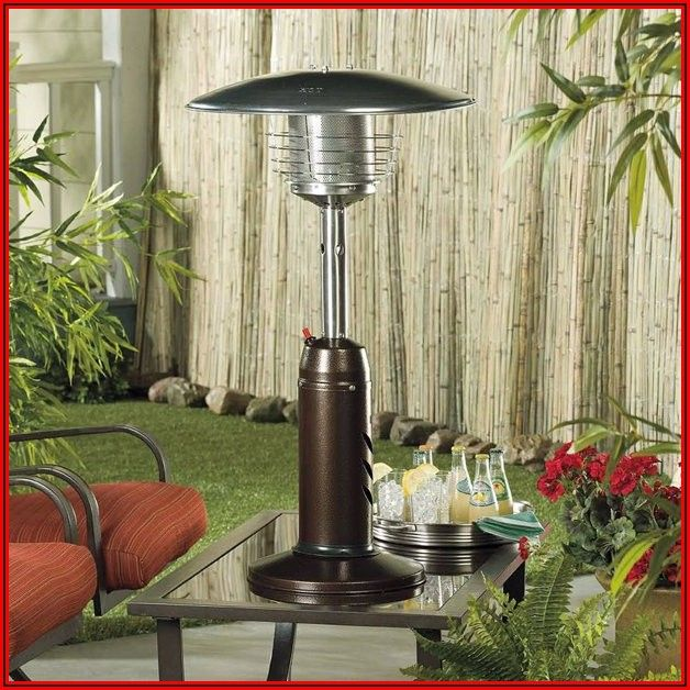 Az Patio Heaters Outdoor Patio Heater In Hammered Bronze