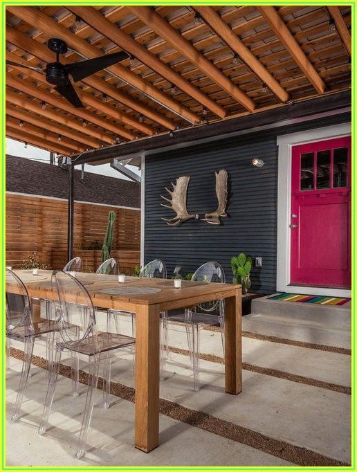 Back Door Patio Designs
