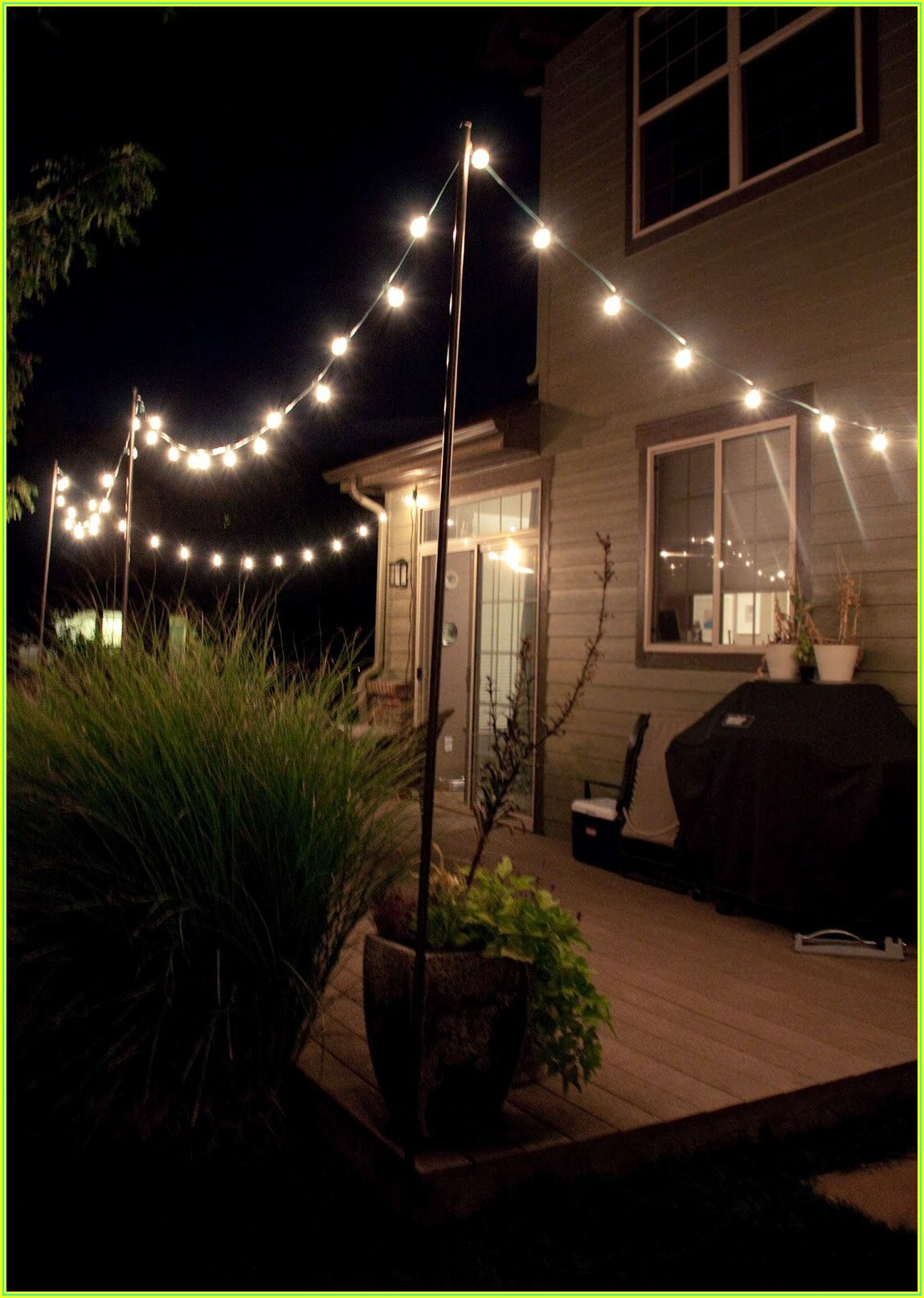 Back Patio Lighting Ideas