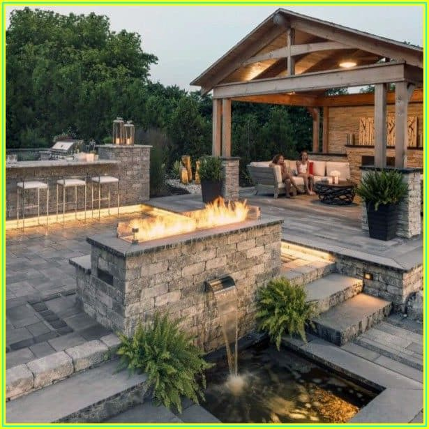 Back Patio Paver Ideas