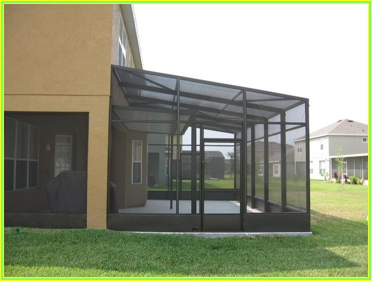 Back Patio Screen And Porch Enclosure