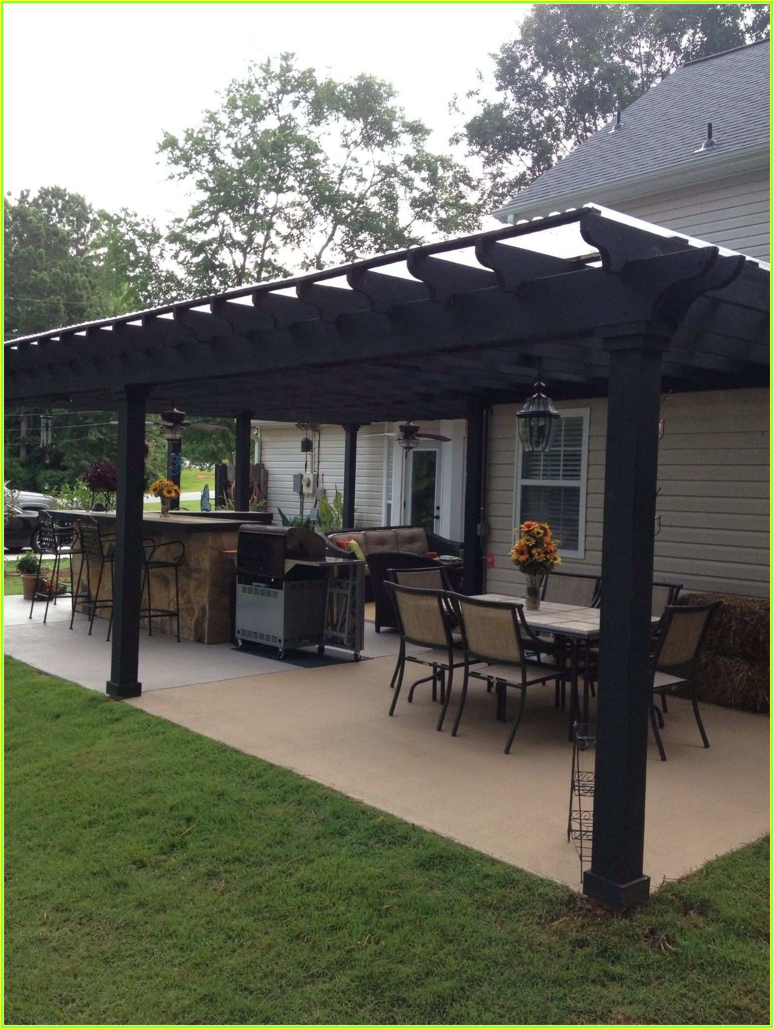 Back Porch Covered Patio Ideas