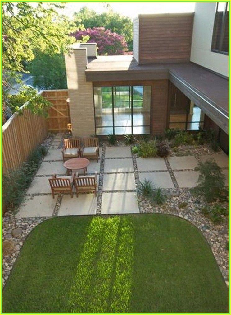 Back Yard Concrete Patio Ideas
