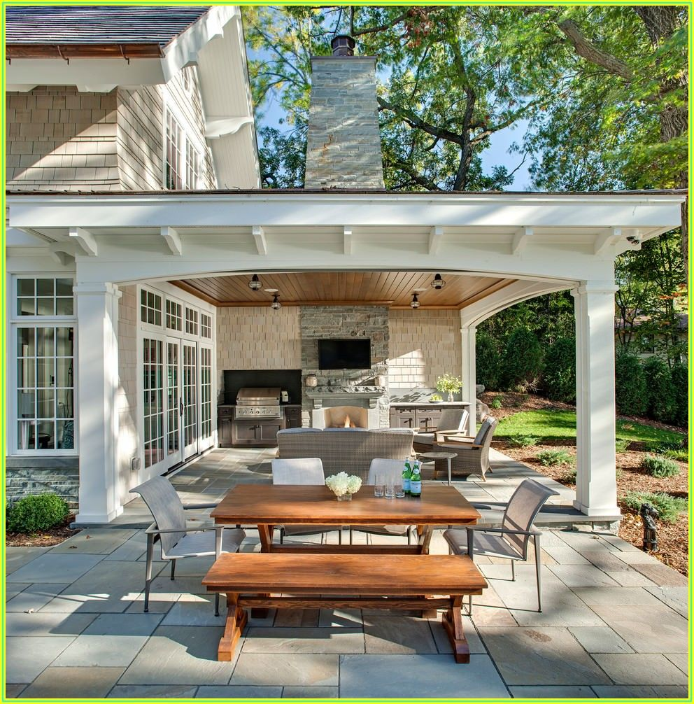 Back Yard Covered Patio Ideas