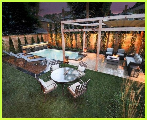 Backyard Oasis Small Backyard Pool And Patio Ideas