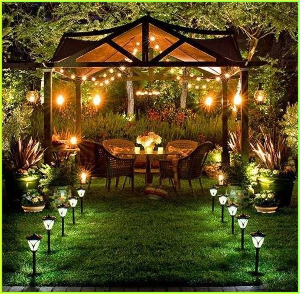 Backyard Outdoor Patio Lighting Ideas