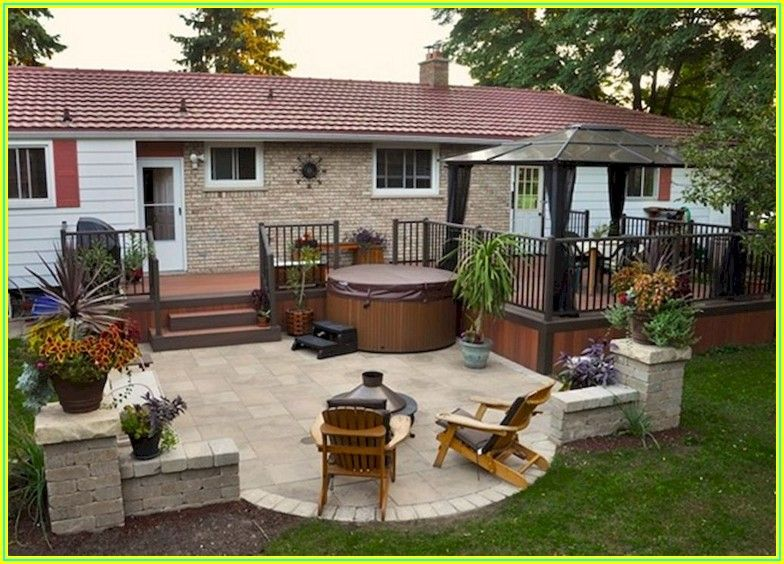 Backyard Patio And Deck Design Ideas