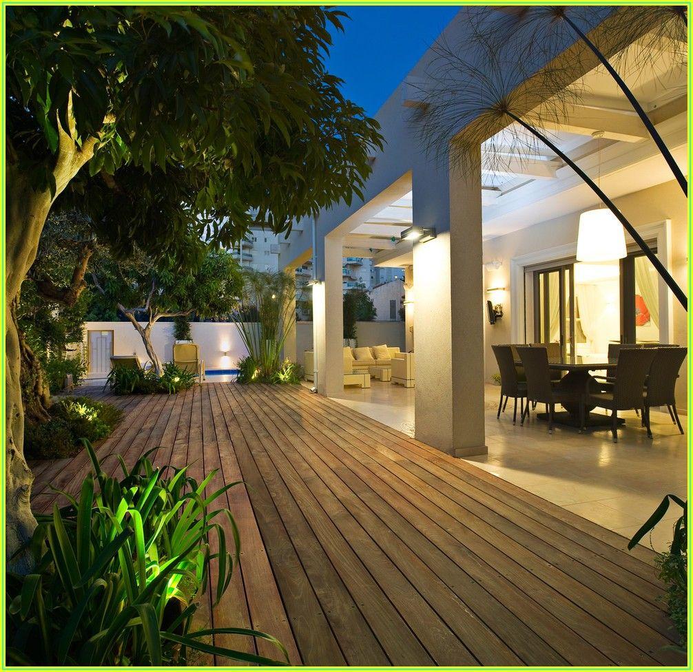 Backyard Patio Ideas Off Deck