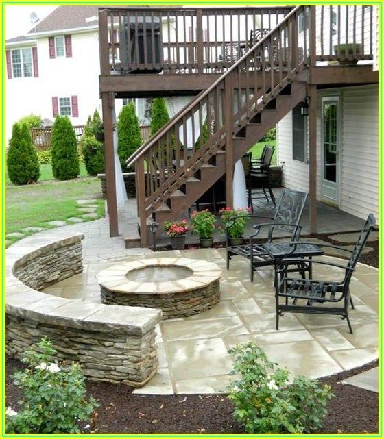 Backyard Under Deck Patio Ideas