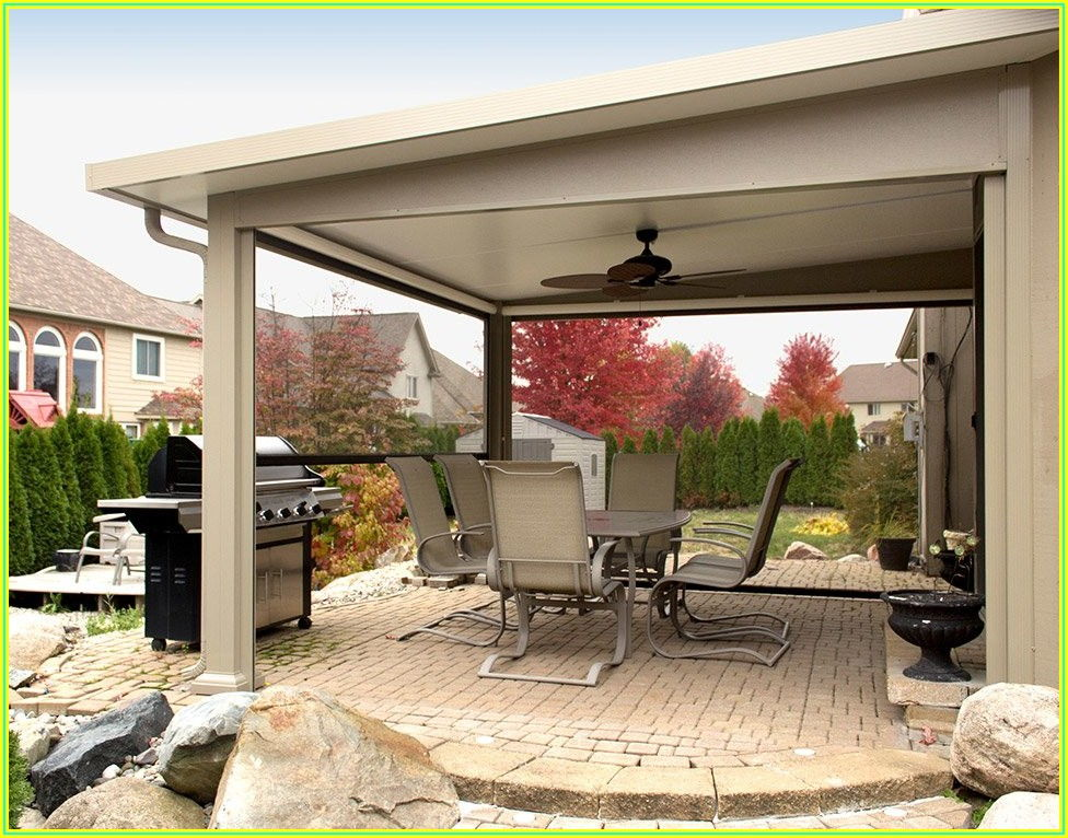 Backyard Wood Patio Covers