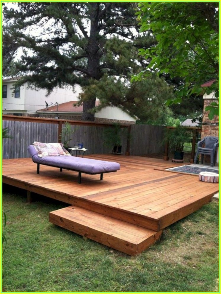 Backyard Wood Patio Ideas