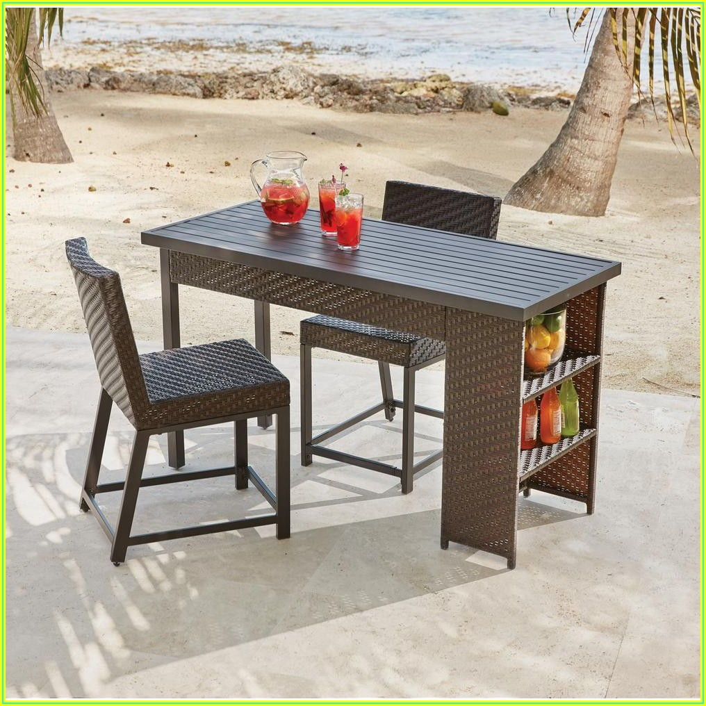 Balcony Height Patio Dining Sets