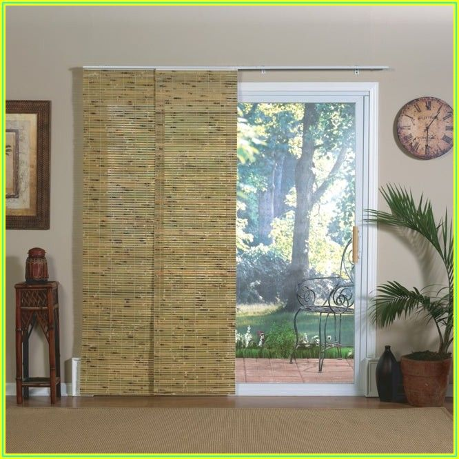 Bamboo Blinds For Patio Doors