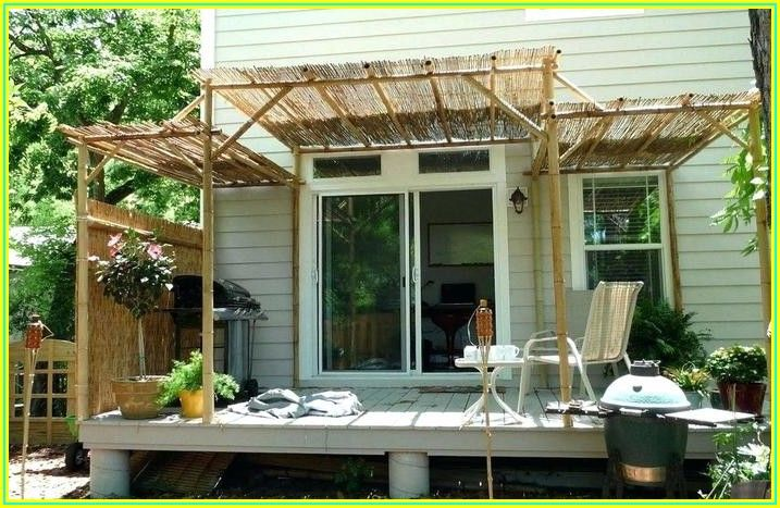Bamboo Patio Cover Ideas