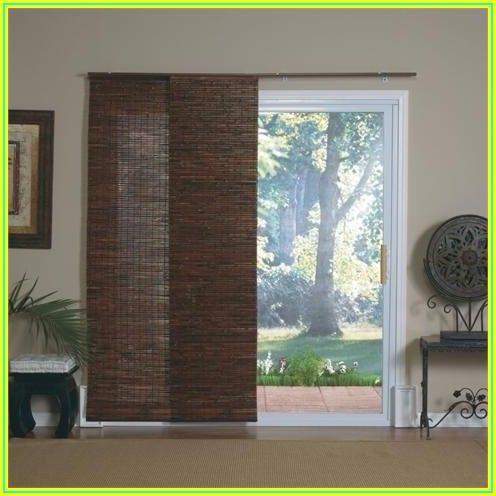 Bamboo Patio Door Blinds