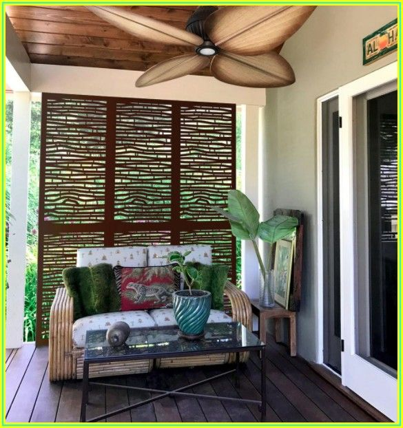 Bamboo Patio Privacy Screens