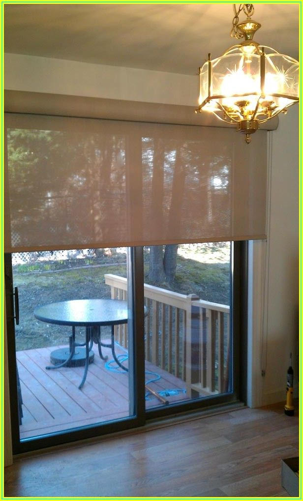 Bamboo Roll Up Patio Shades