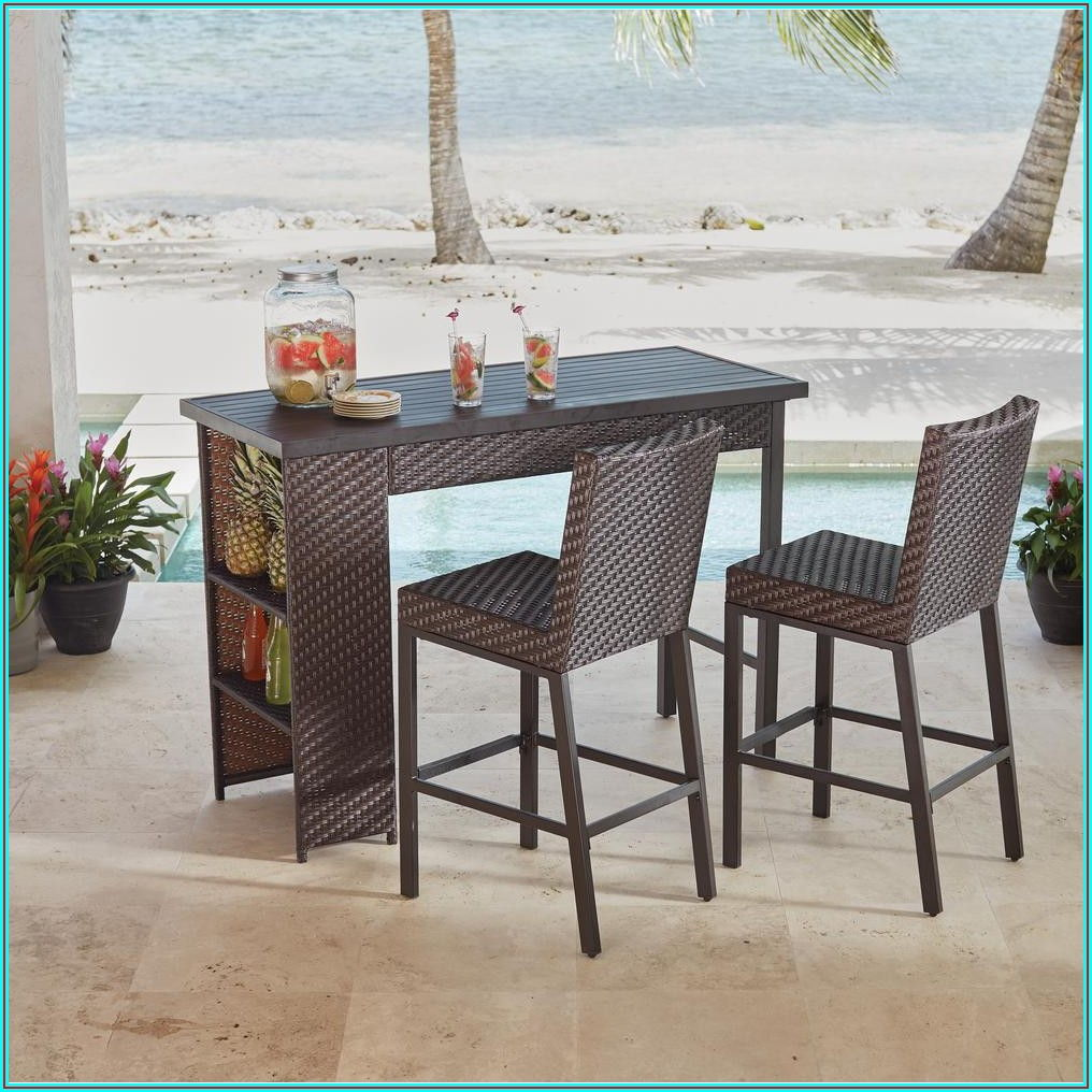 Bar Height Outdoor Patio Dining Sets