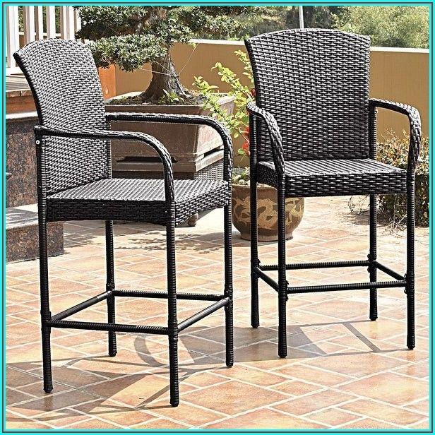 Bar High Patio Chairs