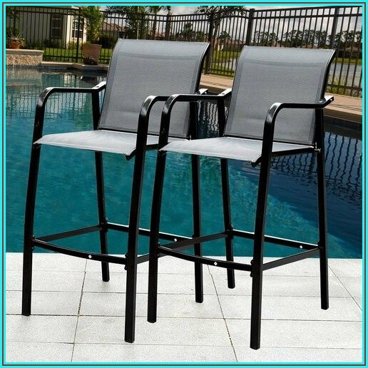 Bar Stool Height Patio Sets