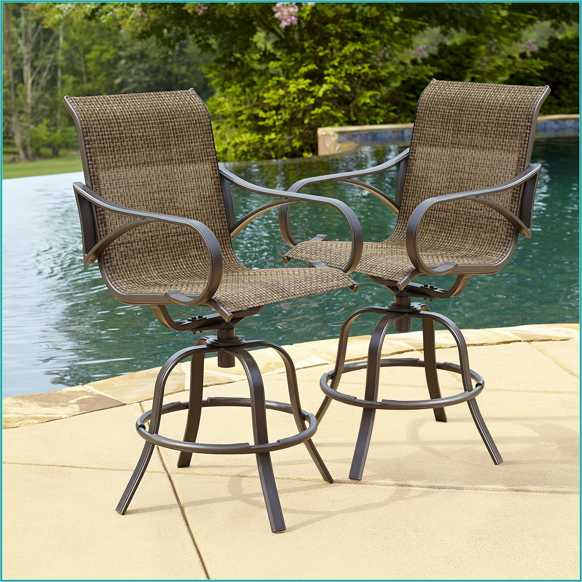 Bar Style Patio Chairs