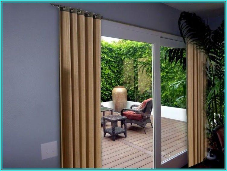 Bay Patio Door Window Treatments