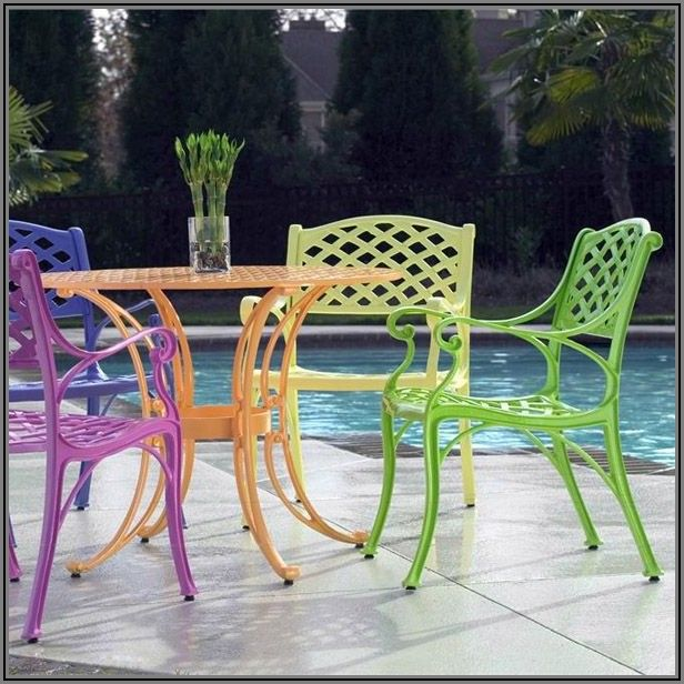 Best Color For Wrought Iron Patio Furniture