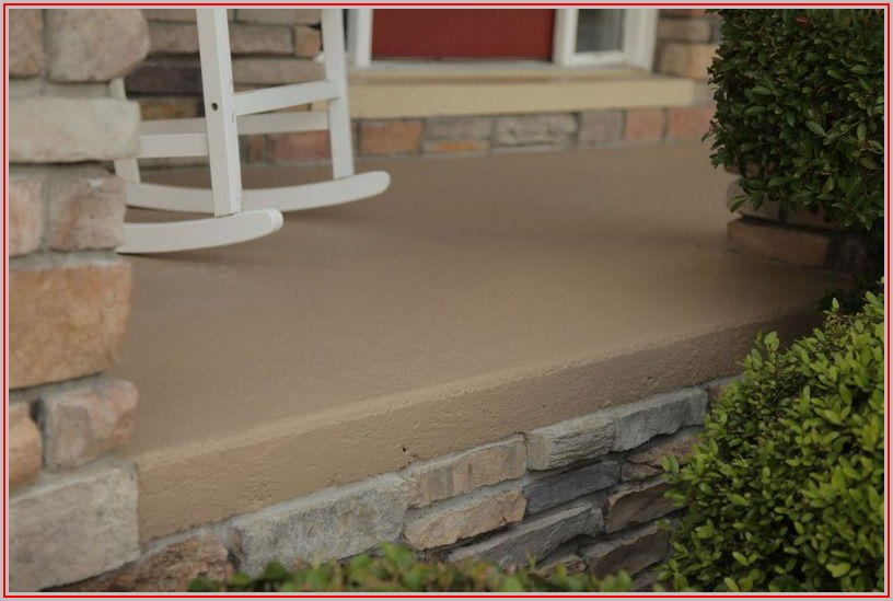 Best Color To Paint Concrete Patio