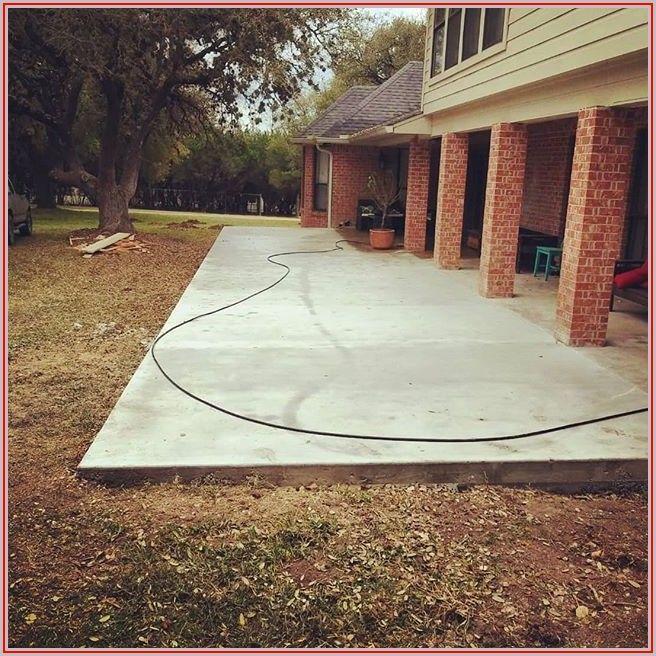 Best Concrete Finish For Patio