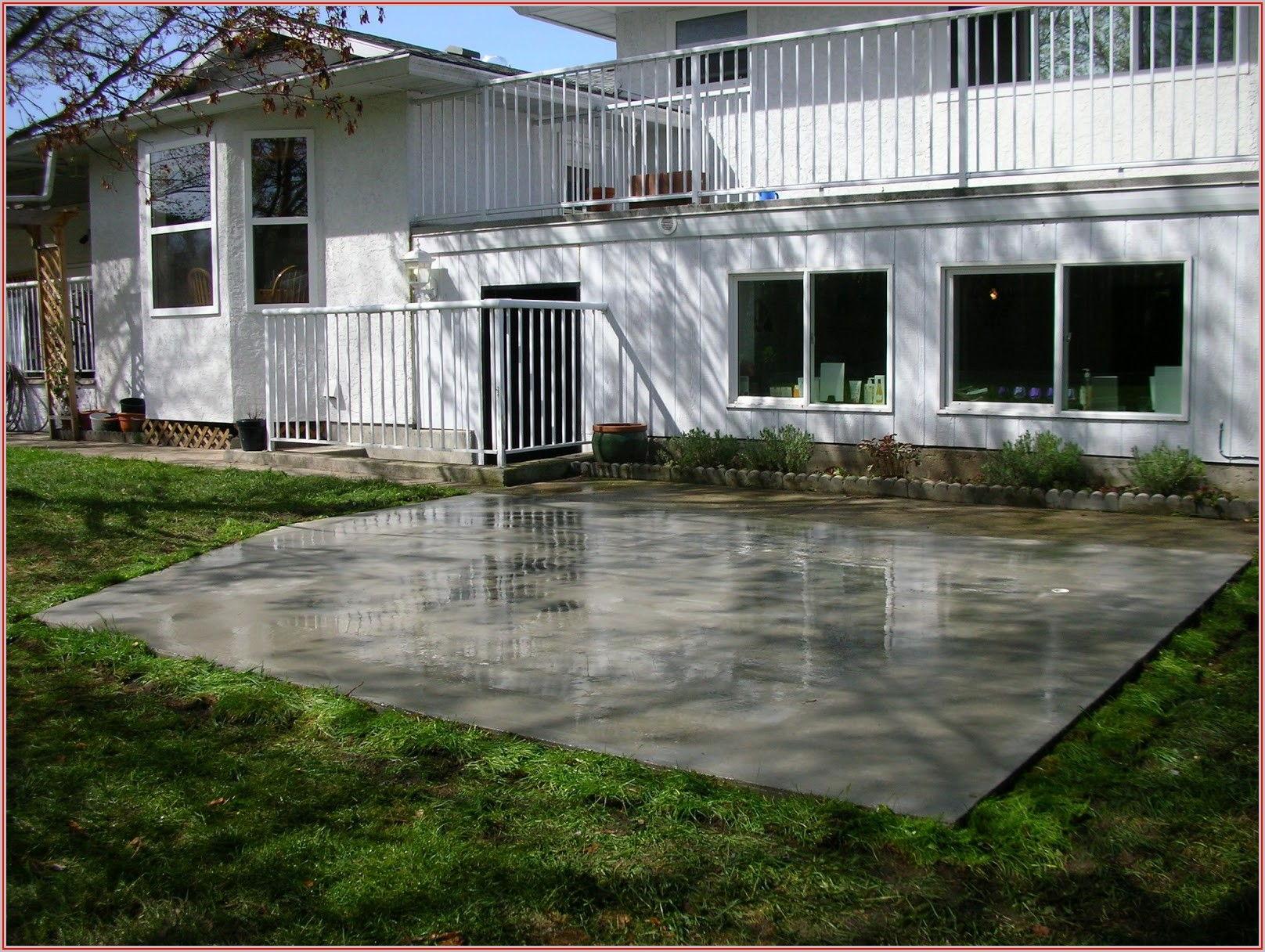 Best Concrete For Patio Slab