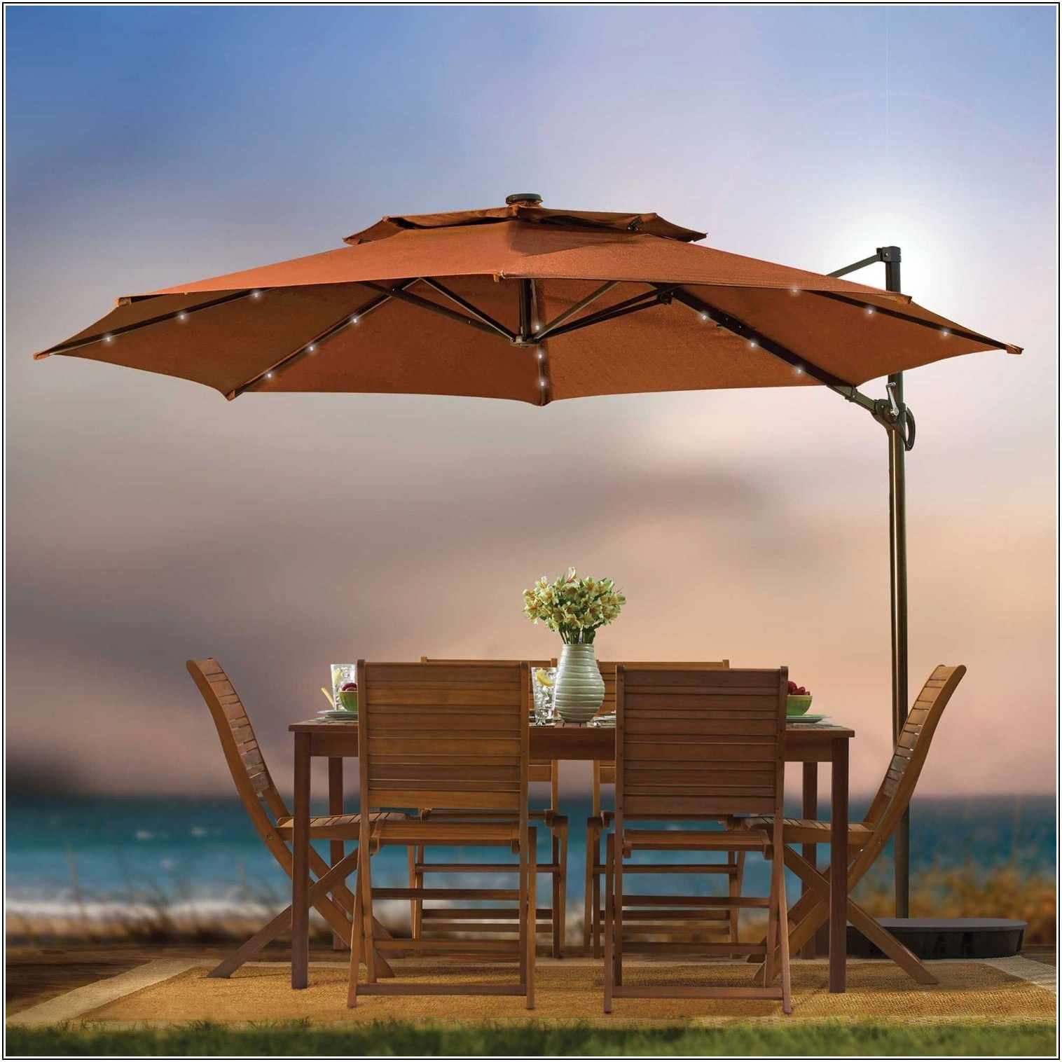 Best Outdoor Patio Umbrella For Windy Area