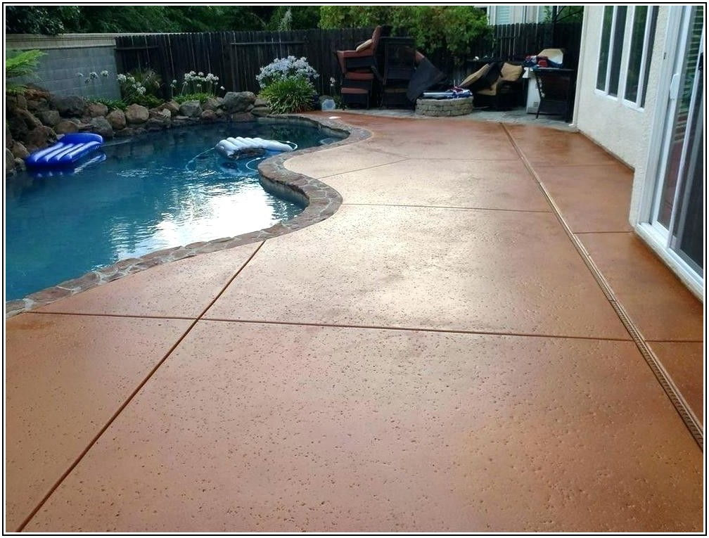 Best Paint For Concrete Patio Floor