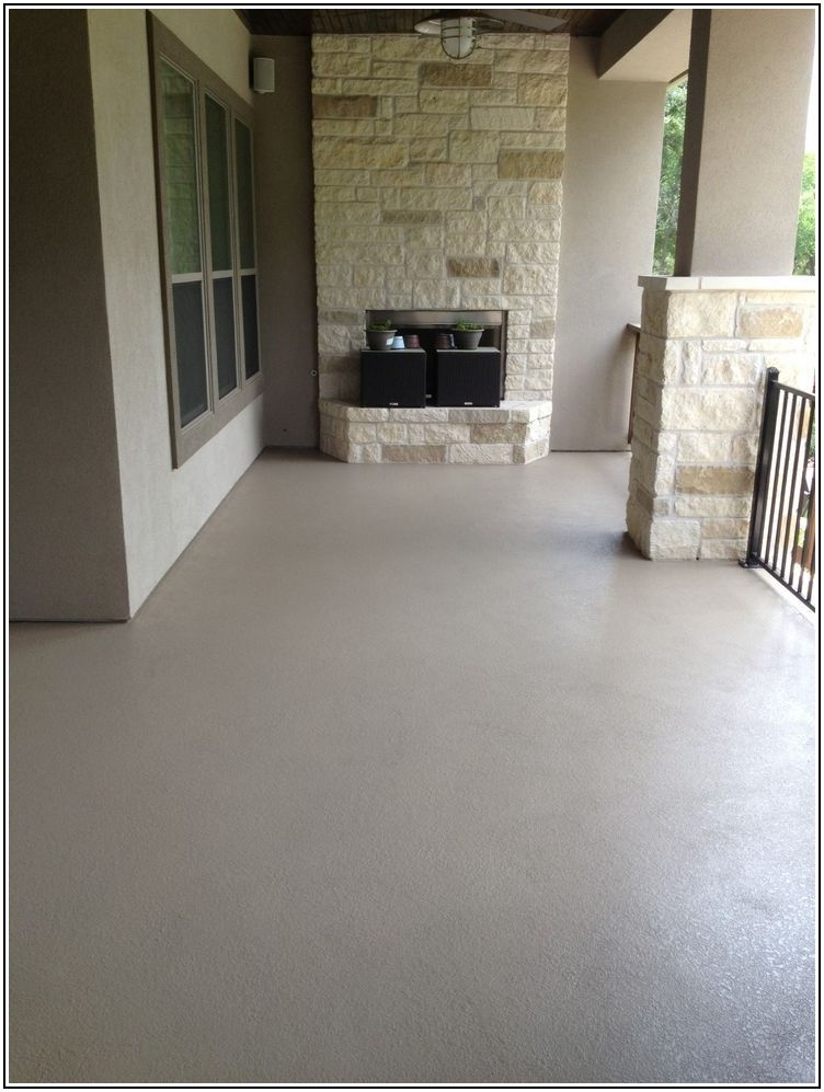 Best Paint For Outdoor Concrete Patio