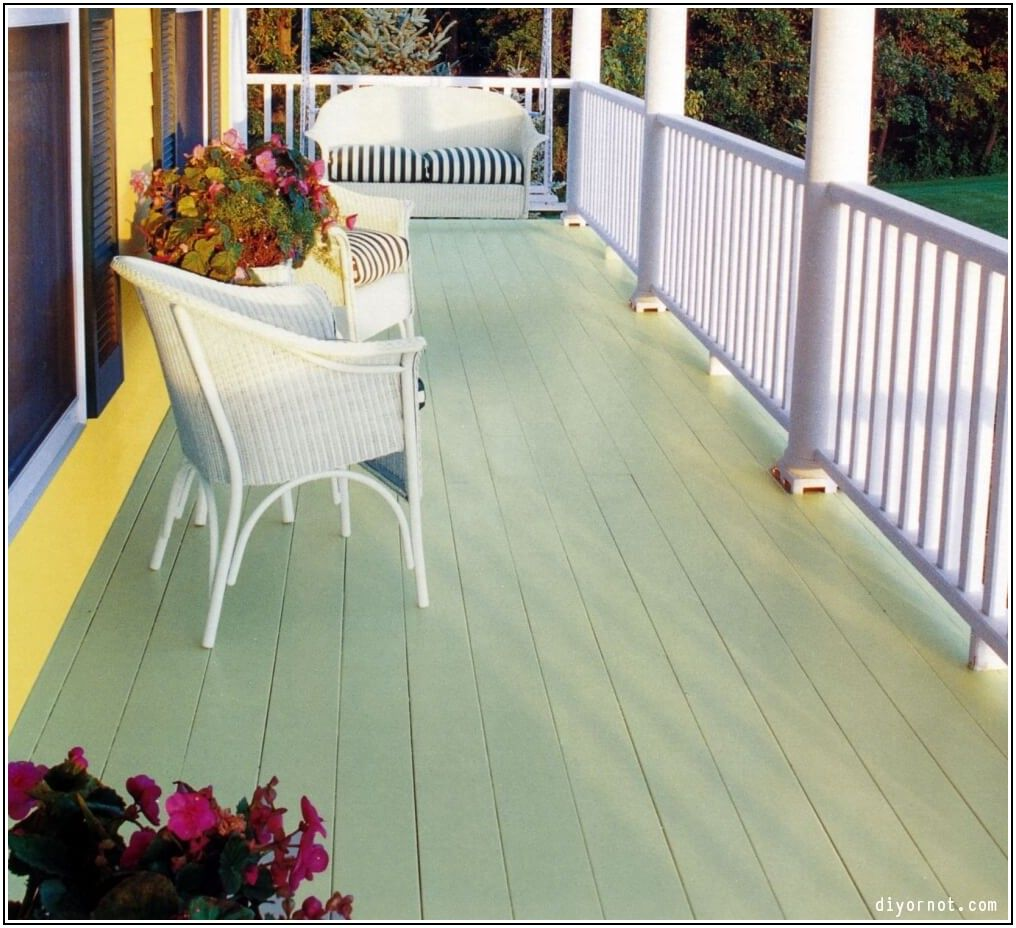 Best Paint For Patio Deck