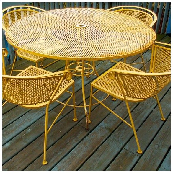 Best Paint For Wrought Iron Patio Furniture