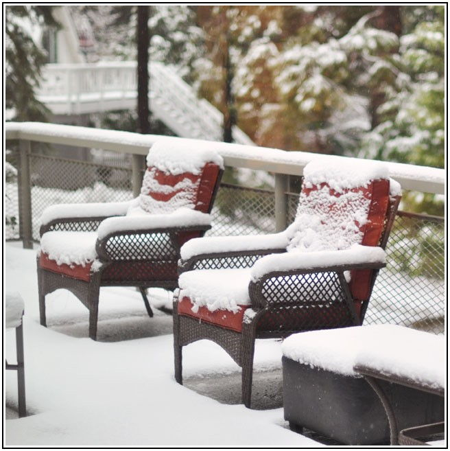 Best Patio Furniture For Snow