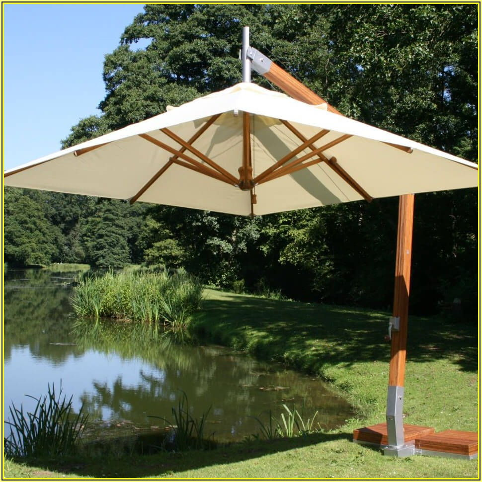 Best Rectangular Patio Umbrella For Wind