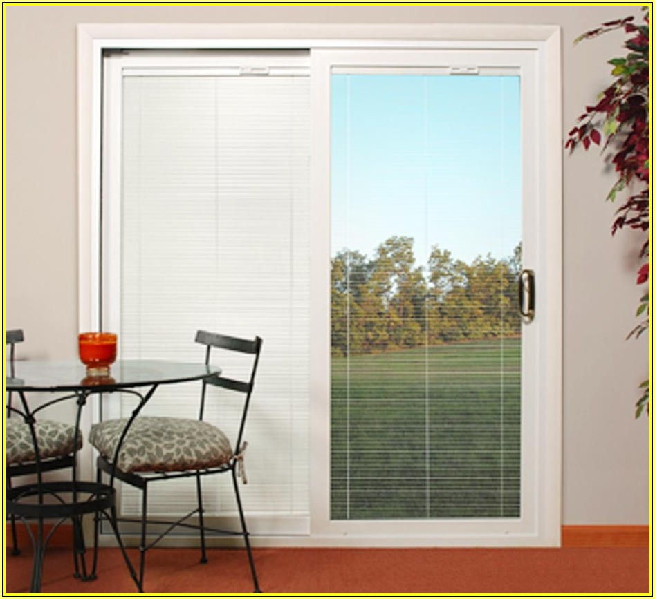 Best Sliding Glass Patio Doors With Built In Blinds