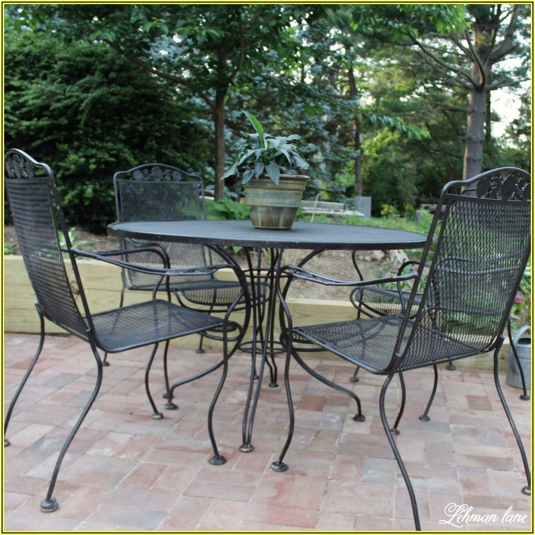 Best Spray Paint For Iron Patio Furniture
