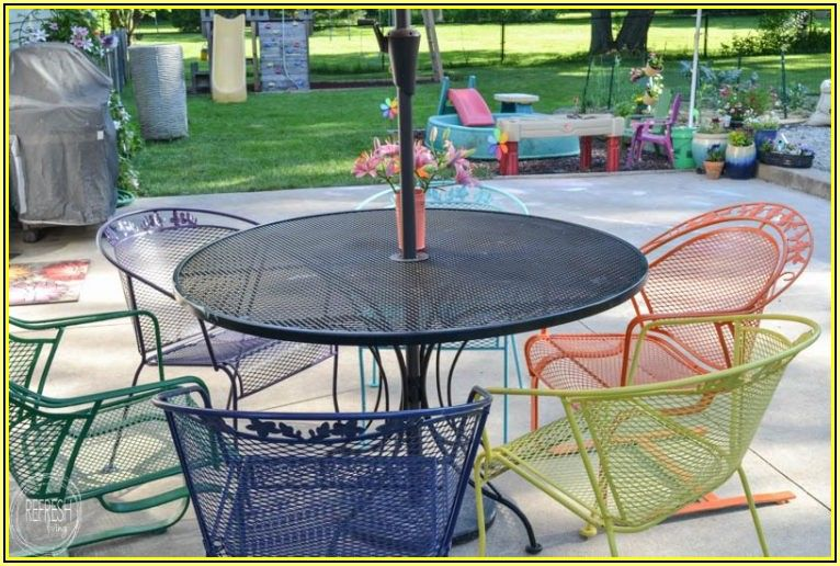 Best Spray Paint For Patio Furniture