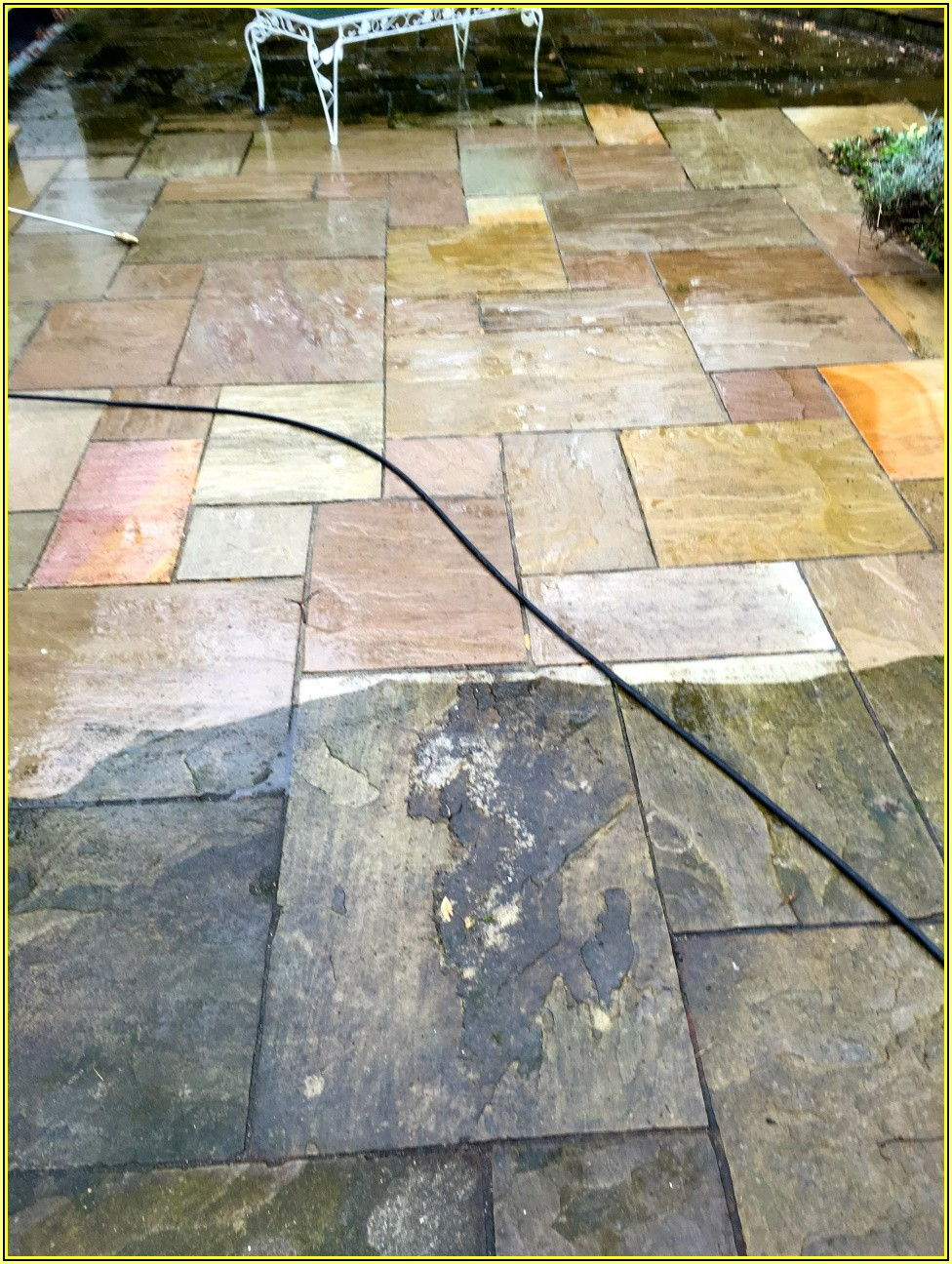 Best Way To Clean Flagstone Patio