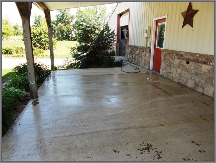 Best Way To Paint Concrete Patio
