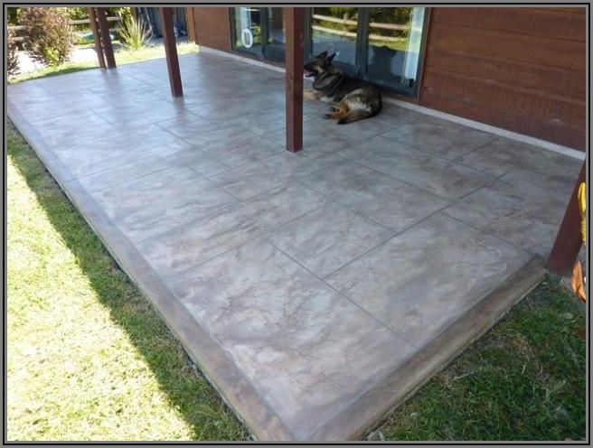 Best Way To Refinish Concrete Patio