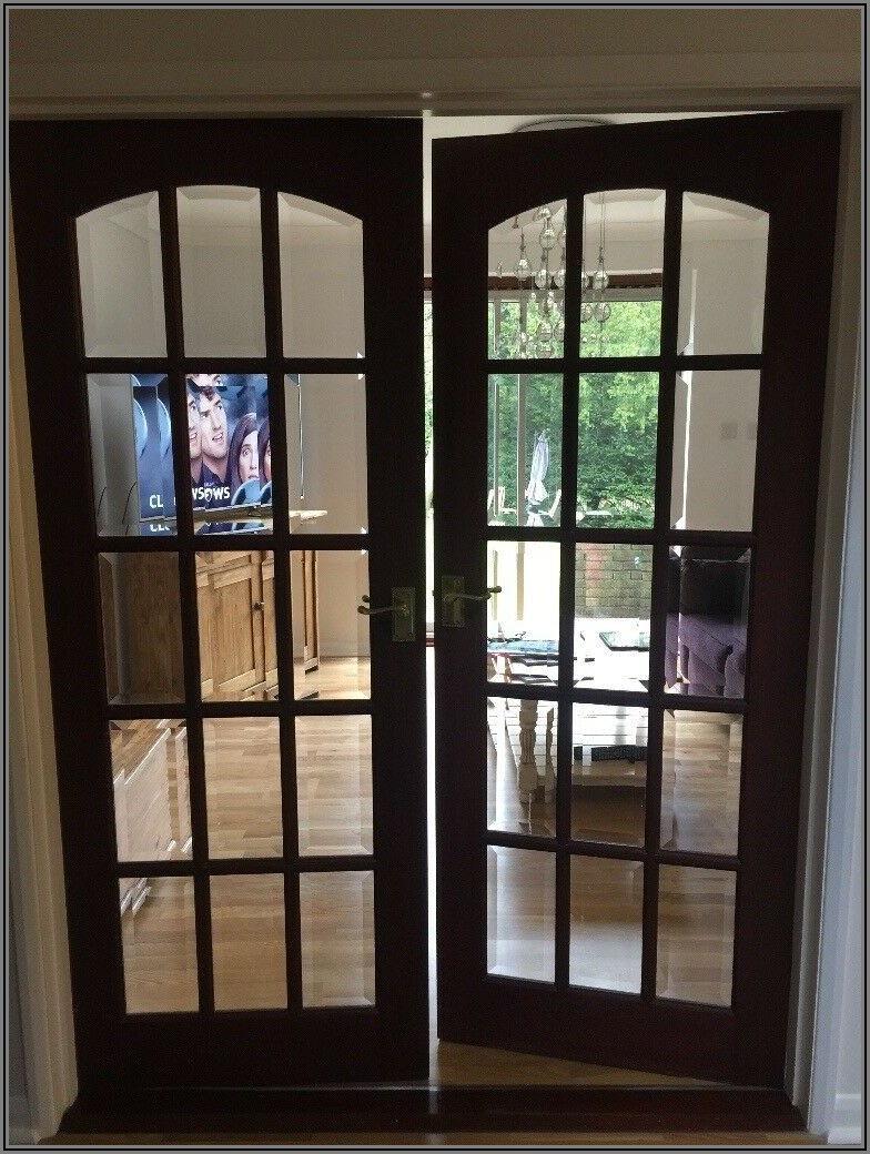 Beveled Glass Patio Doors