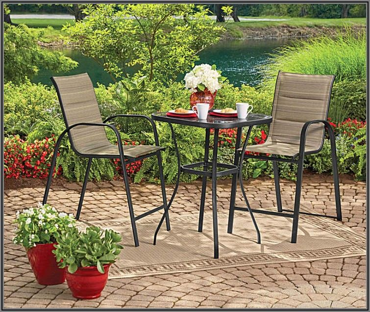 Big Lots Patio Bistro Set