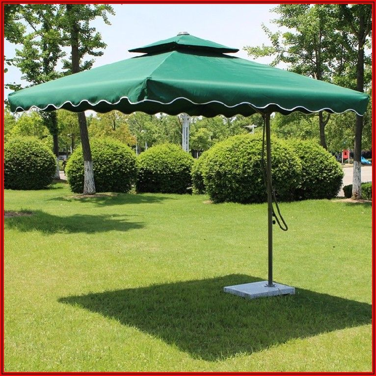 Big Outdoor Patio Umbrellas