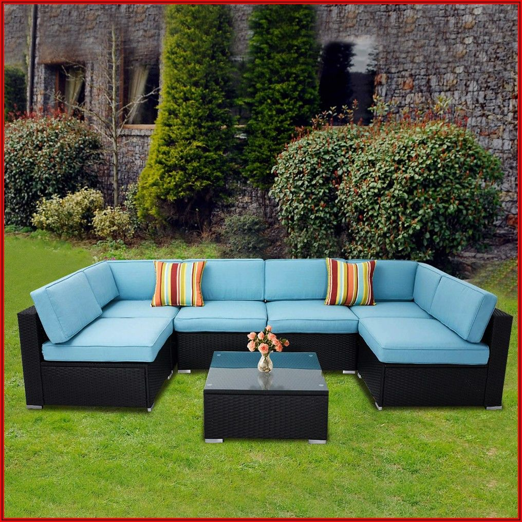Black All Weather Wicker Patio Furniture